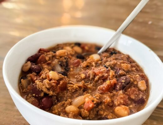 Vegan 3 Bean Chili