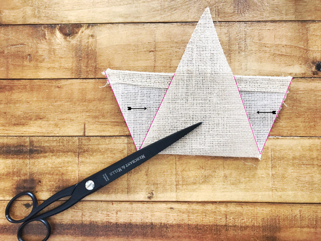 reuse leftover bunting