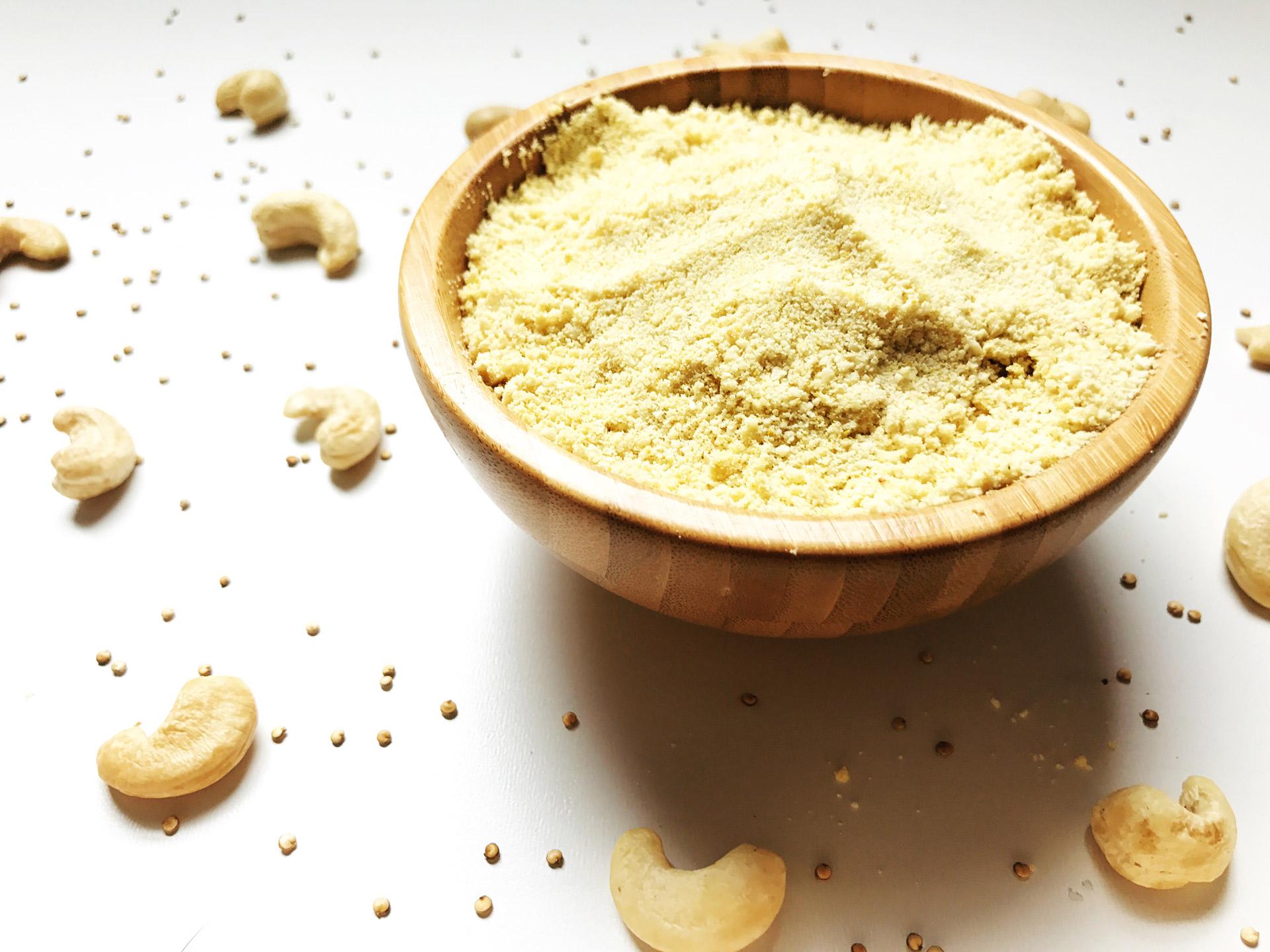 Recipe for Vegan Parmesan