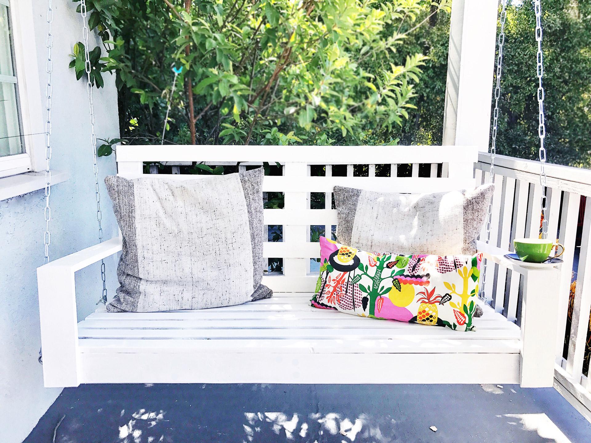 build a porch swing